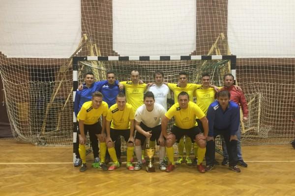 A futsal bajnok csapat